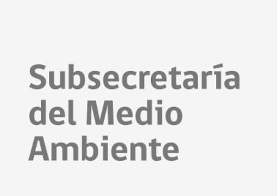 Subsecretaria del Medio Ambiente 2018